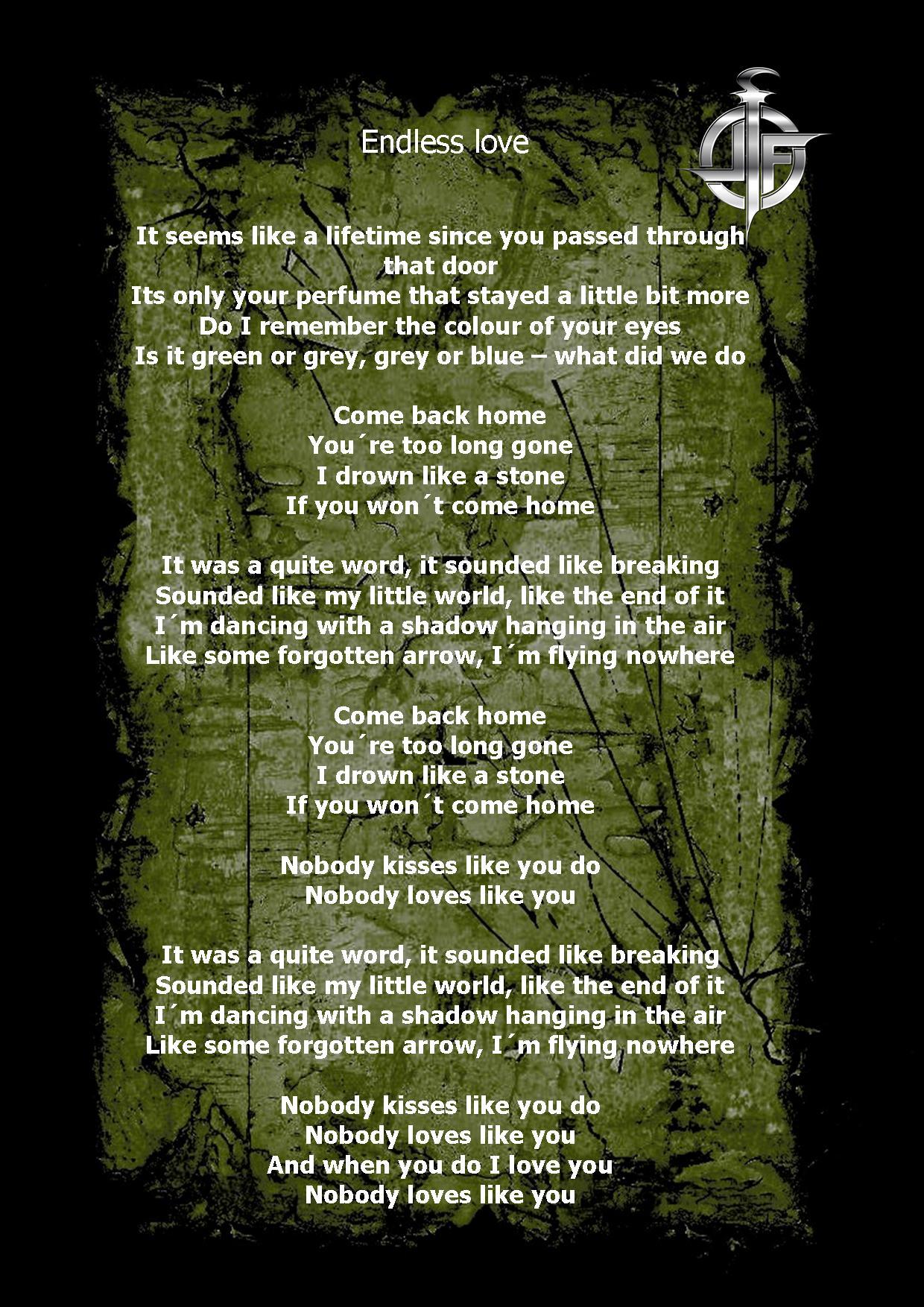 endless love lyrics: